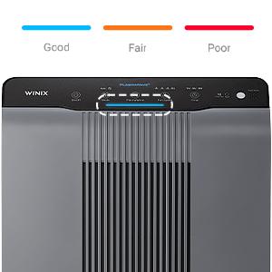 5300-2 Smart Sensor Adjust LED Air Quality Indicator to display Air Quality