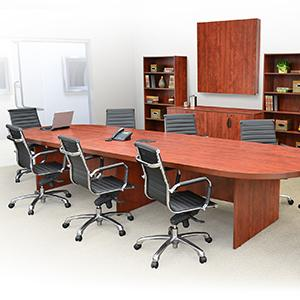 Amazoncom Regency Legacy Inch Modular Racetrack Conference - Cherry conference room table