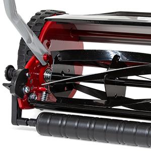 Sprint Cortacésped de Cilindro 410RM, 20 litros Bolsa de Recogida, Dark Red, 40 cm (16