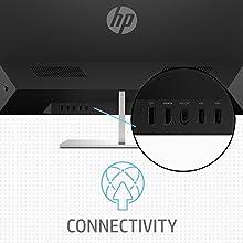 HP QHD Monitor, Desktop Monitor, HDMI, DisplayPort, USB 3.0, universal USB-C