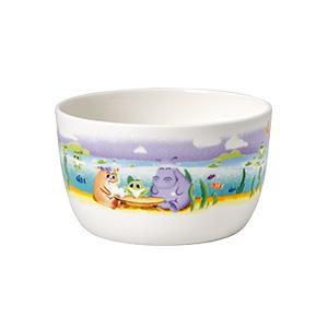 Blanco//Multicolor Porcelana Premium Villeroy /& Boch Happy as a Bear Taz/ón para cereales 450 ml