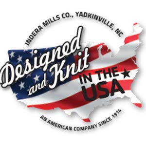 designed in the USA, knit in the USA, family owned company