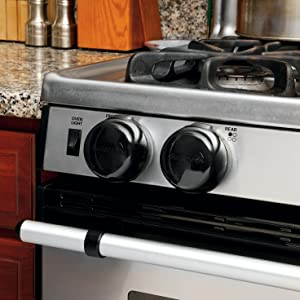 child safety products, babyproofing, Stove Knob Cover, safety 1st, hinged lid, parental access