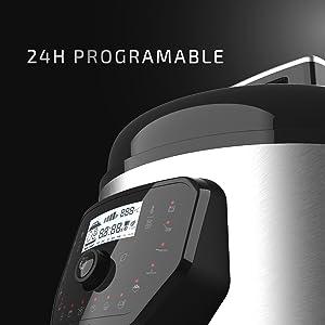 Cecotec Olla Programable GM. Programable, Sistema Inteligente de cocción (Modelo H Deluxe): Amazon.es