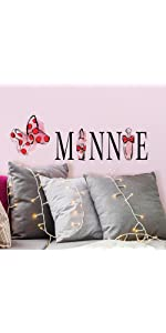 minnie mouse peel and stick wall decals, peel and stick all decals