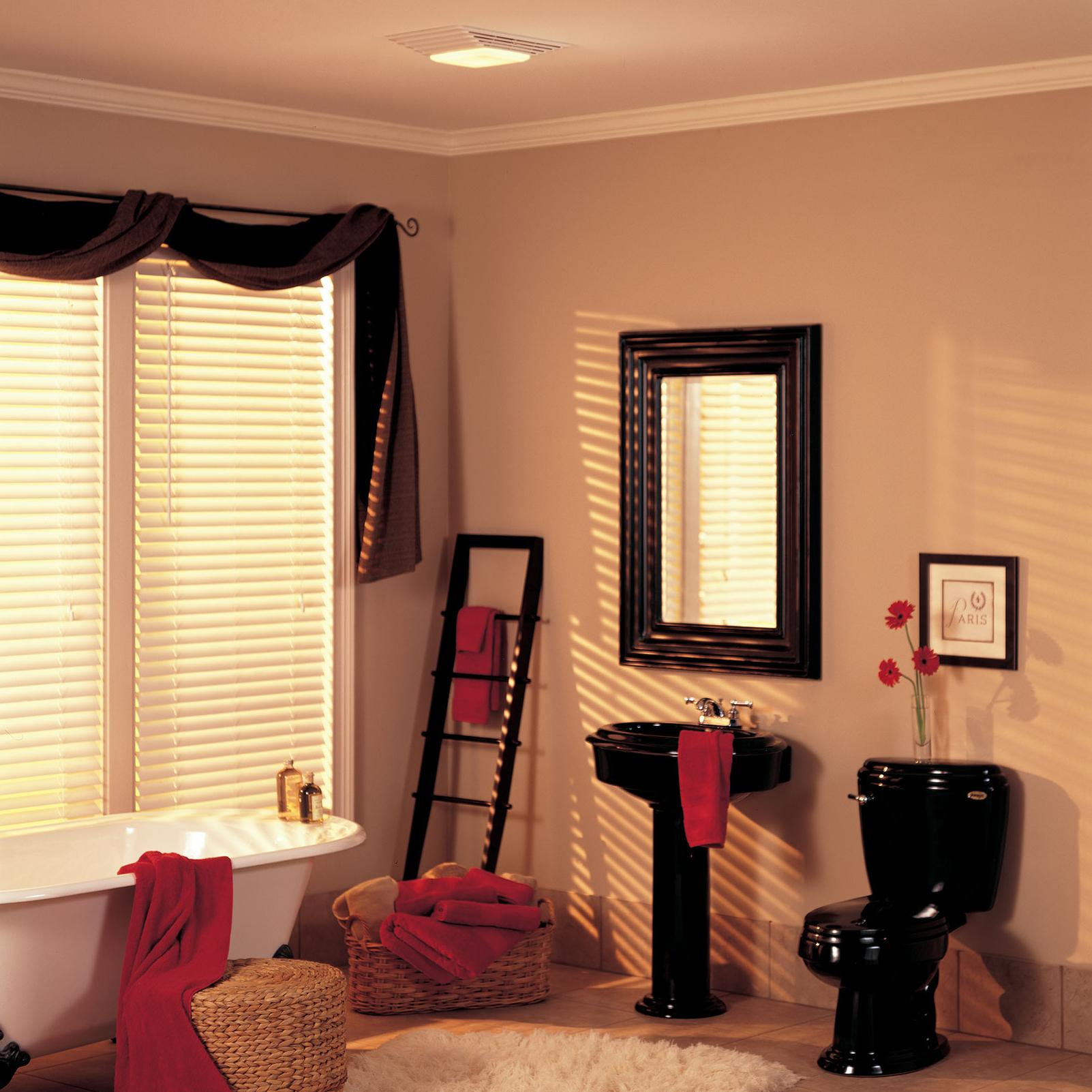 Broan Nutone 659 Heater Fan And Light Combo For Bathroom And Home 2 5 Sones 1300