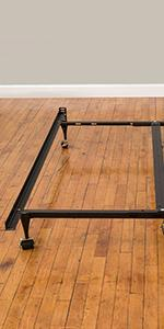 Heavy duty bed frame, adjustable metal frame, queen bed frame, universal frame fits all sizes