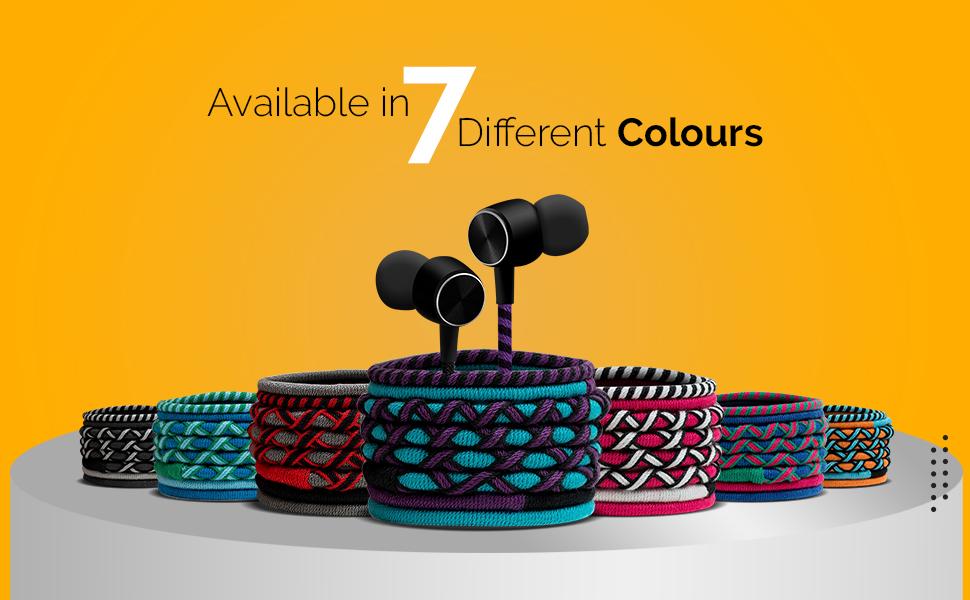 wired earphones braided fancy earphones designer earphones