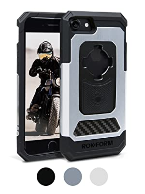 Rokform fuzion pro iPhone case, shockproof iPhone 8 case, magnetic iPhone 8/7 case, aluminum iPhone