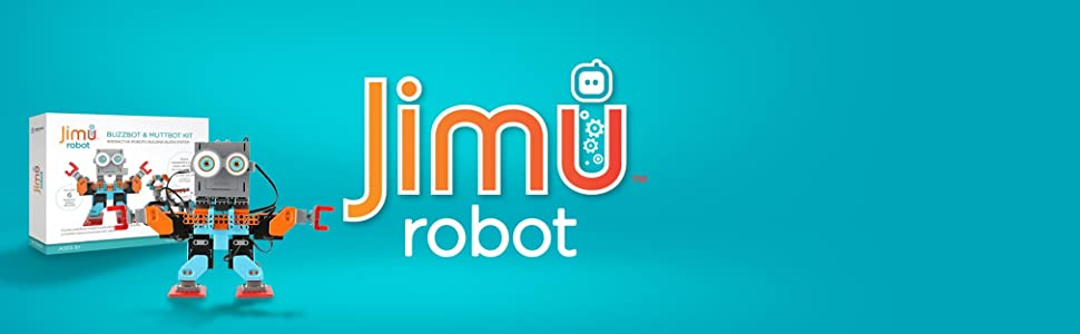 UBTECH Jimu Robot BuzzBot & MuttBot - App Enabled STEM