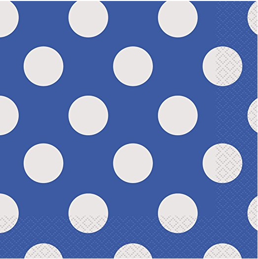 Royal Blue Polka Dot Paper Plates 8ct · Royal Blue Polka Dot Paper Cake Plates 8ct · Royal Blue Polka Dot Paper Napkins 16ct · Royal Blue Polka Dot ...  sc 1 st  Amazon.com & Amazon.com: Royal Blue Polka Dot Plastic Tablecloth 108
