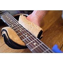 guitar neck cleaner, guitar accessory, bass, microfiber guitar cloth, suede guitar cloth