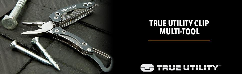 True Utility TU196 Clip Multi-Tool
