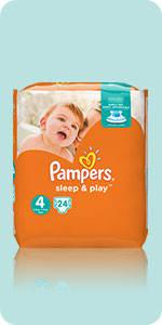 Couches Pampers Sleep & Play
