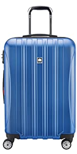 delsey paris luggage aero medium checked spinner