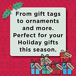 From Gift Tags to Ornaments Perfect for Your Holiday Gifts This Season.