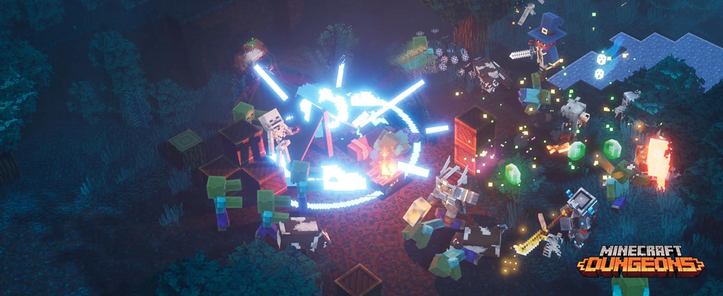 Minecraft Dungeons Standard   Windows 10 PC - Código de descarga: Amazon.es: Videojuegos