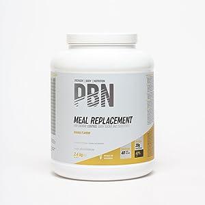 PBN - Sustitutivo de comidas, bote de 2.4 kg (sabor plátano ...