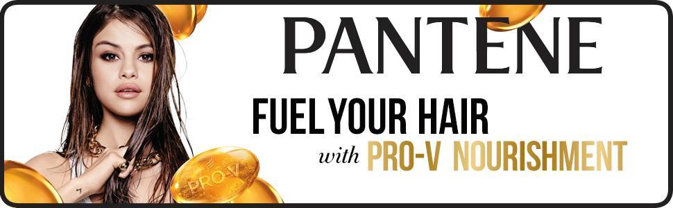 Pantene, pro-v formula, selena gomez, shampoo
