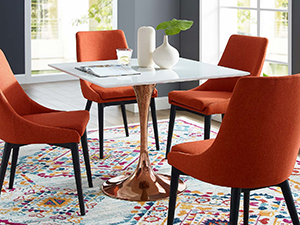 Amazon.com - Modway Paris Dining Polycarbonate Side Chair in ...