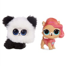 Amazon Com L O L Surprise Fluffy Pets Winter Disco Series With