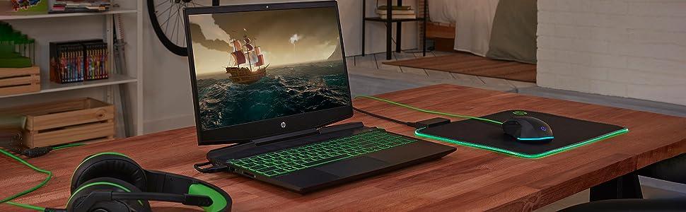HP Pavilion Gaming 15-dk0006ns - Portátil Gaming de 15.6