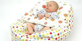 Schlafkissen Baby, baby sitzsack, baby nestchen, pucksack baby, liegekissen baby