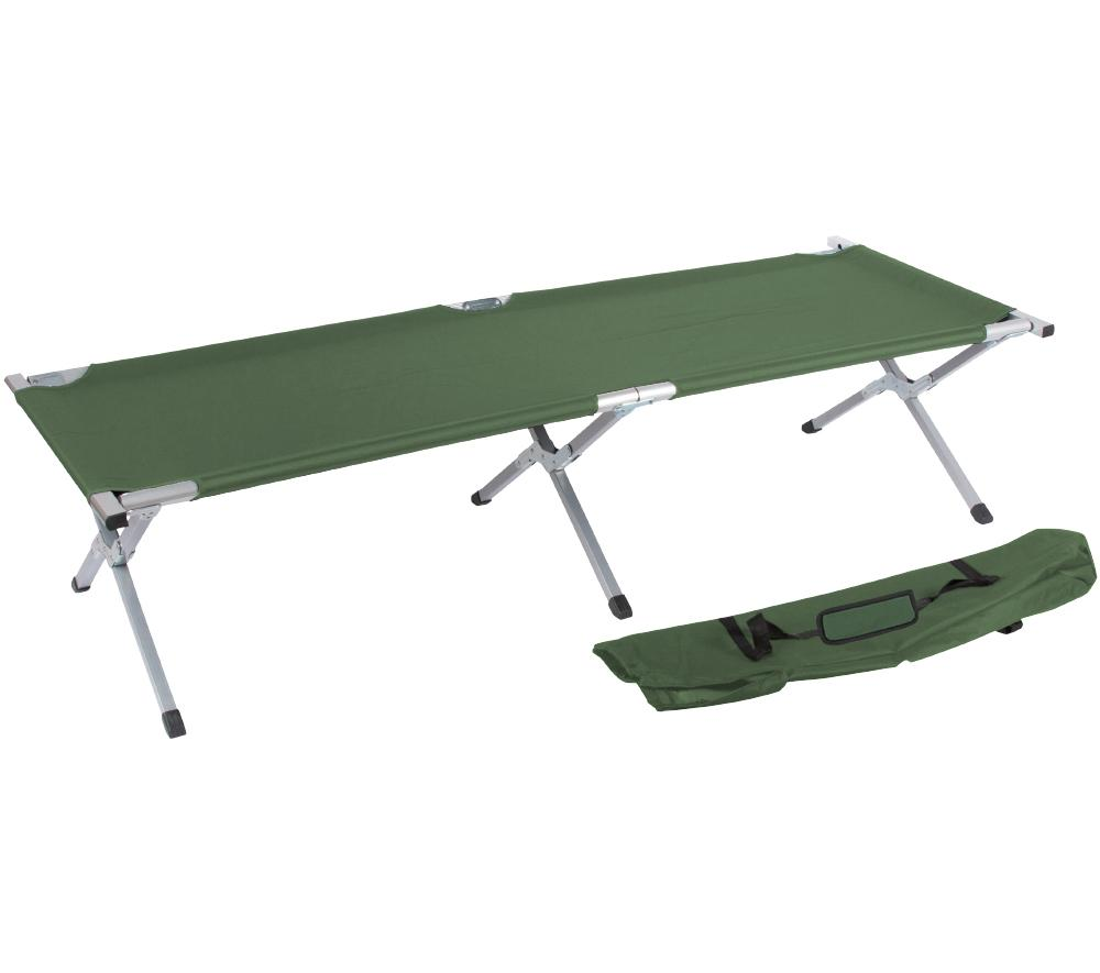 """Amazon.com: 75"""" Portable Folding Camping Bed and Cot By ..."""