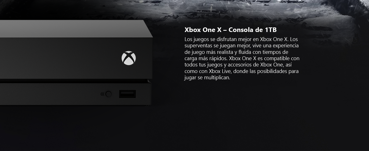 Microsoft Xbox One X - Consola 1 TB + Metro Exodus Collection: Microsoft: Amazon.es: Videojuegos