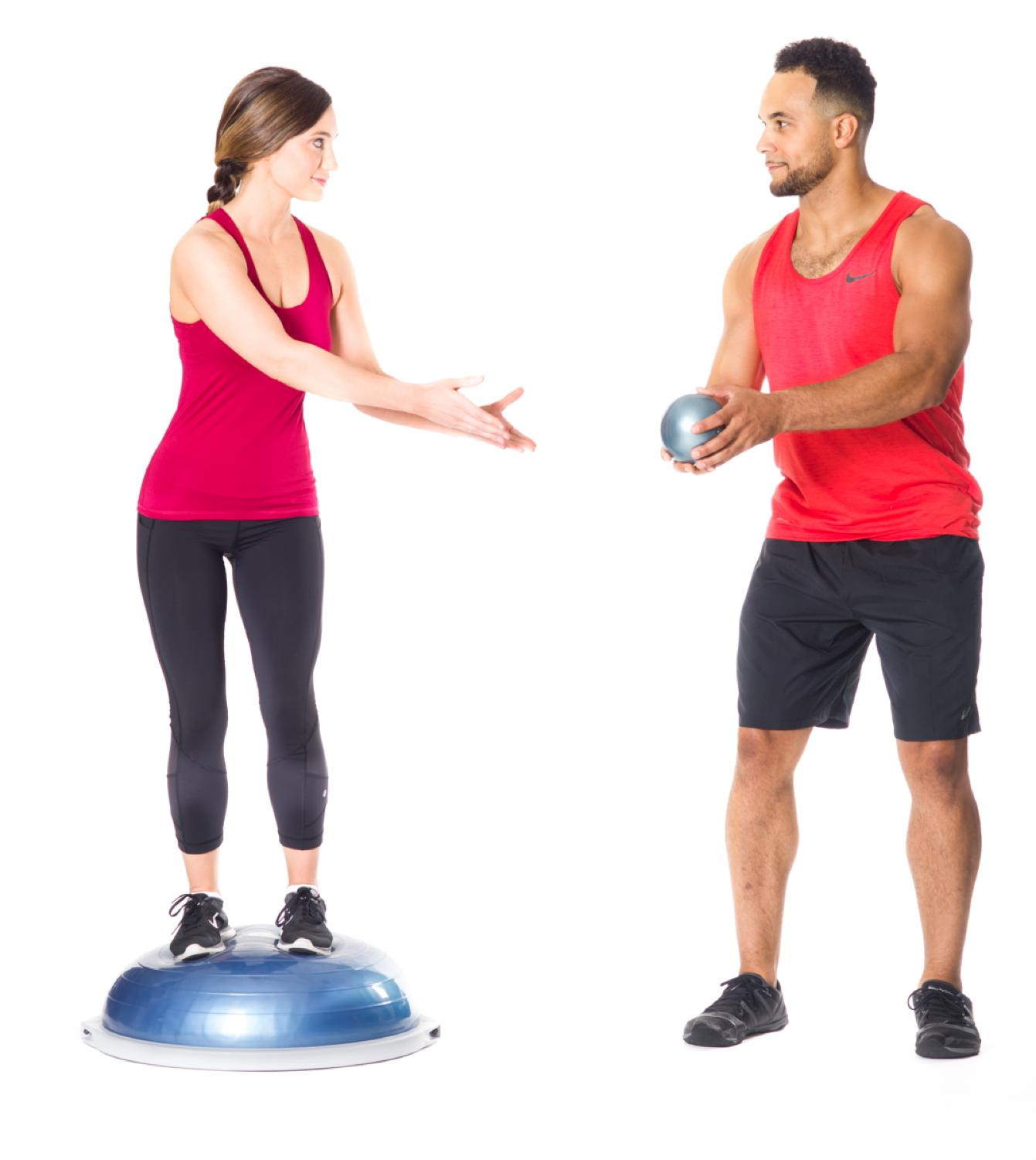 Bosu Ball Exercises For Athletes: Amazon.com : Bosu Pro Balance Trainer : Exercise Balls