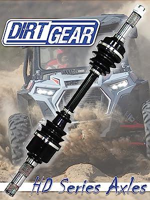Dirt Gear E907037 HD Series CV Axle for 2014-2015 Polaris Sportsman ACE 325