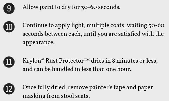 krylon k06931600 rust protector textured paint dark bronze spray Matte Black Spray-Paint Krylon view larger
