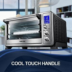 Amazon Com Toshiba Ac25cew Ss Digital Oven With