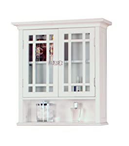 Amazon.com: Elegant Home Fashions Neal Collection Shelved Double ...