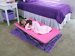Amazon Com Regalo My Cot Portable Toddler Bed Includes