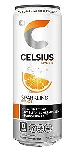 Celsius Originals Sparkling Orange