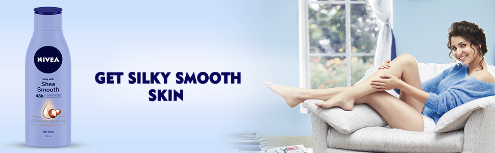 NIVEA SHEA SMOOTH BODY MILK