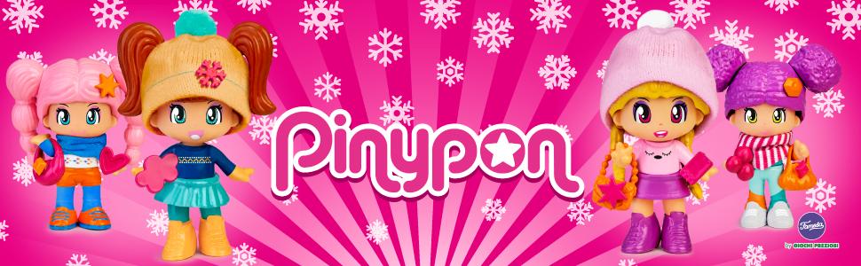 PINYPON SNOW HOTEL 3 PIANI CON PERSONAGGI E ACCESSORI INCLUSI 700015773