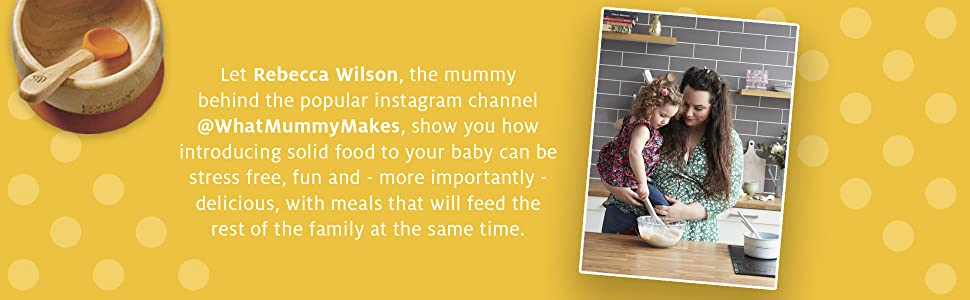 Meet Rebecca Wilson, from the popular Instagram channel @whatmummymakes