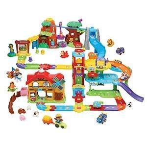 vtech tut b maxi caserne pompier 503905 multi couleur jeux et jouets. Black Bedroom Furniture Sets. Home Design Ideas