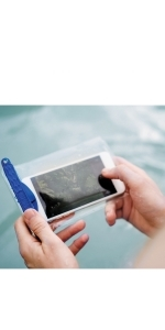 cell phone water bag underwater protect sand iphone