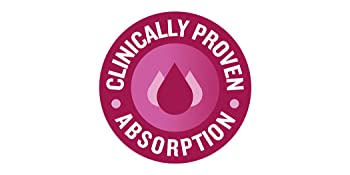 Clinically proven absorption.**