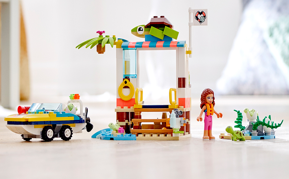 LEGO Friends 41376 Turtles Rescue Mission FREE SHIPPING