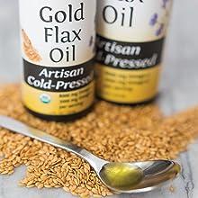 Organic Artisan Cold-Pressed Oils