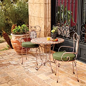 Patio Cushion, Montlake FadeSafe, Classic Accessories, Cushion With Warranty, Water-Resistant