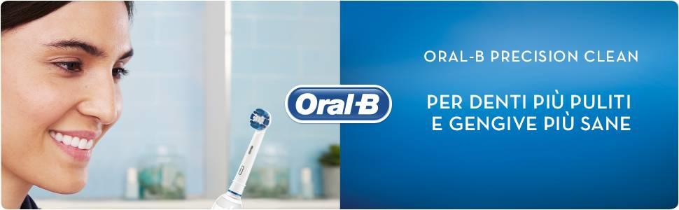 X4 Oral B UNIVERSALE di Ricambio Spazzolino Elettrico-FAMILY PACK alta qualità