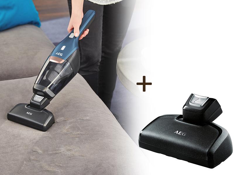 Accesorio para aspiradora Stick vacuum, Kit de accesorios, Negro, CX7-2-B360 // CX7-2-S360 // CX7-2-I360 // CX7-2-45AN // CX7-2-45WM AEG AKIT14 Stick vacuum Kit de accesorios