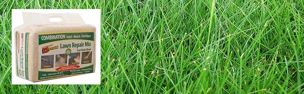 Amazon Com Ez Straw Mlezsunshd114 Lawn Repair Mix Sun Shade