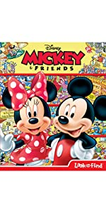Mickey & Friends Look and Find