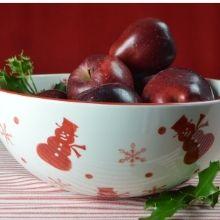 vibrant color ceramic ware 120 oz serving bowl extra large centerpiece accent